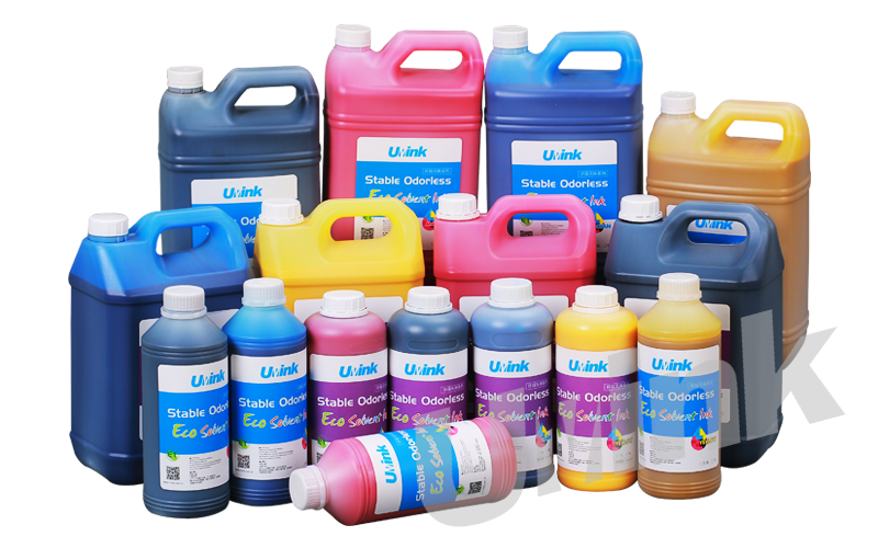 E1-IND Stable Odorless Eco Solvent Ink
