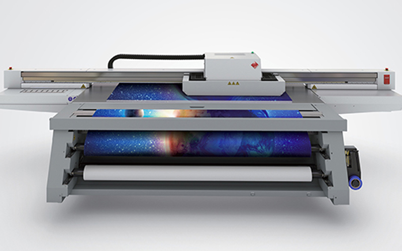 <b>Canon showed six new UV flatbed printers in Shanghai</b>