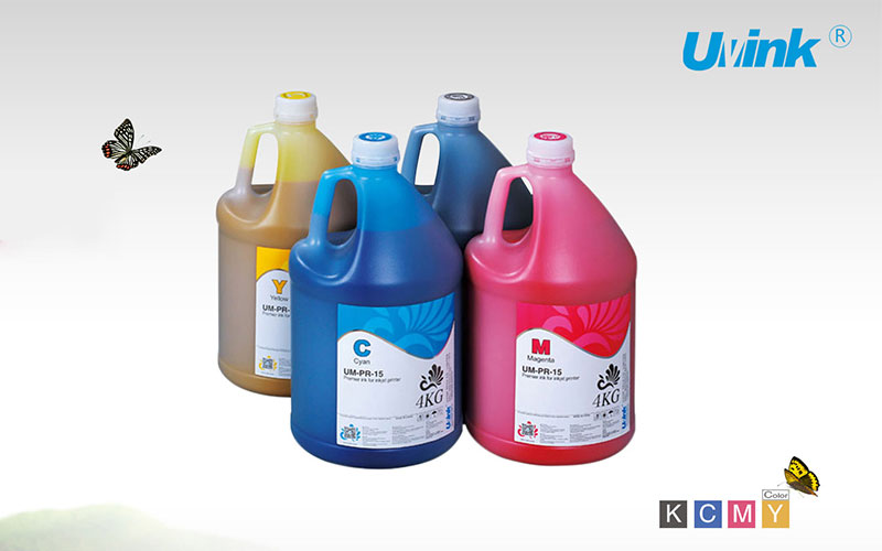 What's the difference between UVINK Group's U- real eco solvent ink, U- eco solvent ink and U- mi