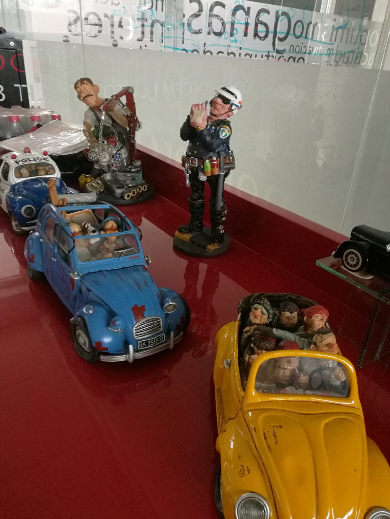 The model cars