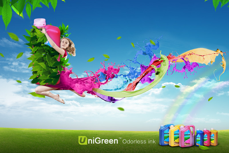 Unigreen Odorless ink