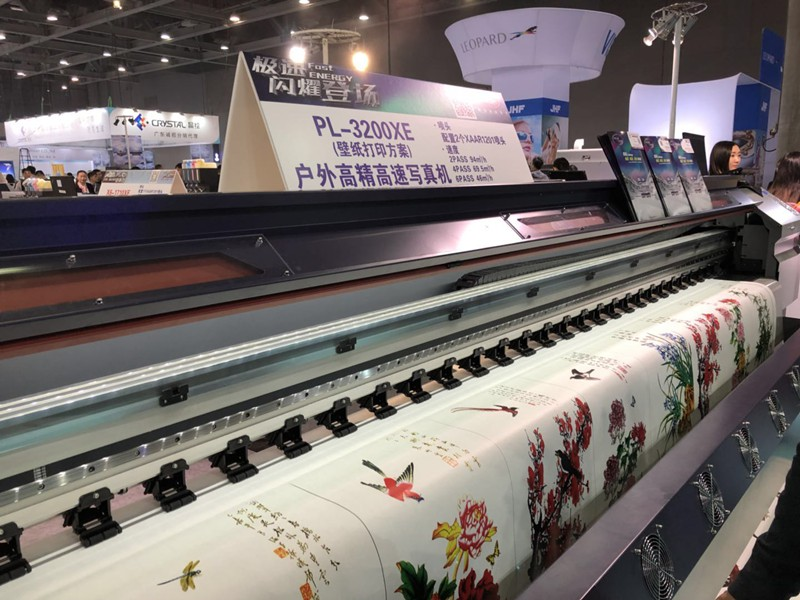 Eco solvent printer for indoor wall paper printing